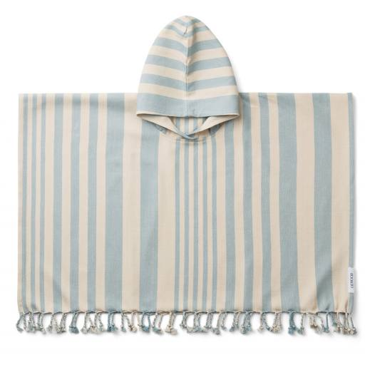"Liewood - Kinder-Badeponcho ""Roomie"", sea blue sandy"