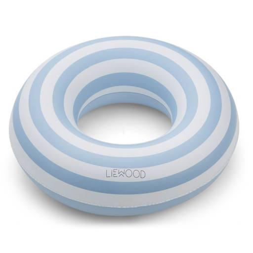"""Liewood - Schwimmreifen """"Baloo"""", stripe sea blue/creme de la creme"""