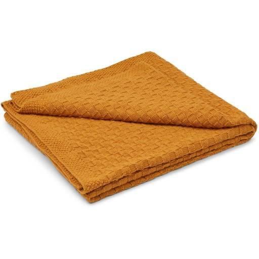 "Liewood - Baby-Wolldecke ""URD Baby Blanket"", mustard"