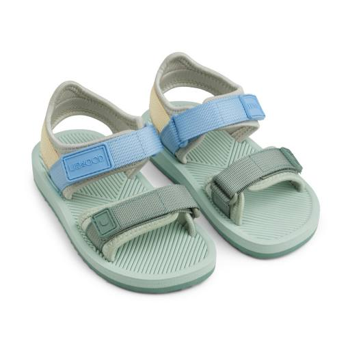 Liewood - Sandalen ''Monty'', dusty mint multi mix