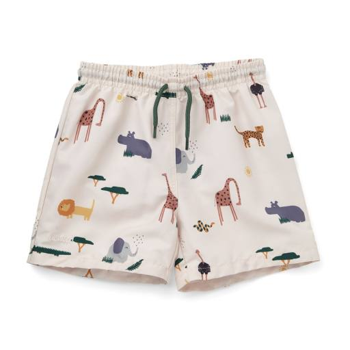 "Liewood - Badeshorts ""Duke board shorts"", safari sandy mix"