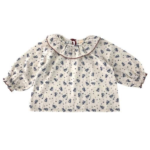 "Liilu -Bluse ""Oana Blouse"", winter blossom"