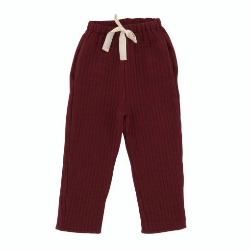 "Liilu -Hose ""Quilted Pants"", berry red"