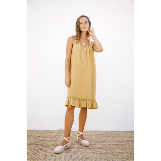 Liilu - Women Kleid ''Cara'', pistachio