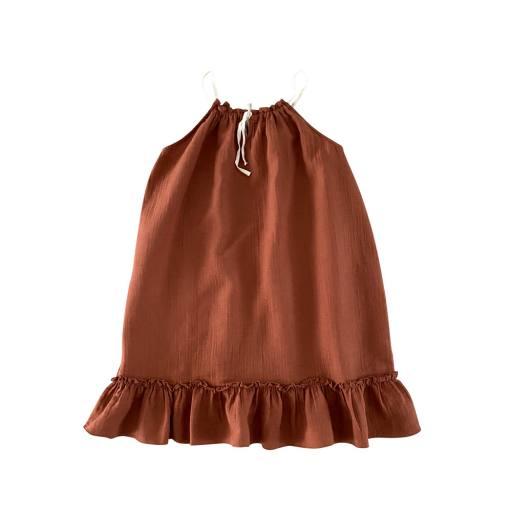 Liilu - Women Kleid ''Cara'', toffee