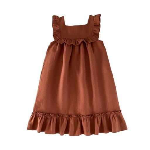 Liilu - Women Kleid ''Lina'', toffee