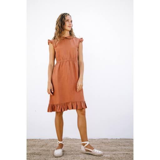 Liilu - Women Kleid ''Penelope'', toffee