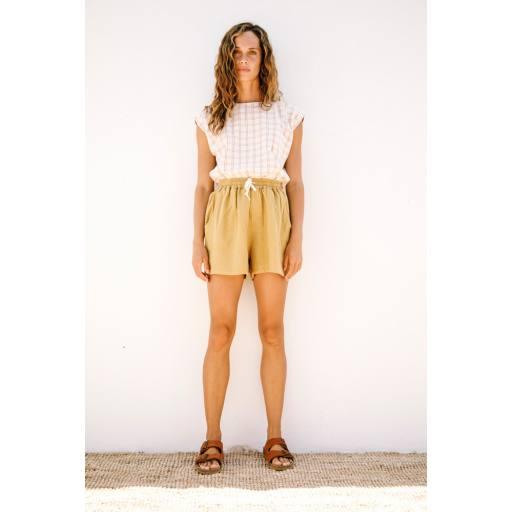 """Liilu - Women Shorts """"Tudor"""", pistachio"""