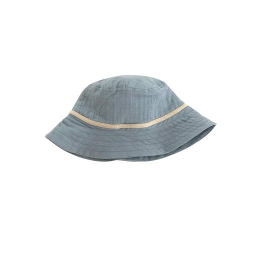 "Liilu - Sonnenhut ""Bucket Hat"", dusty blue"