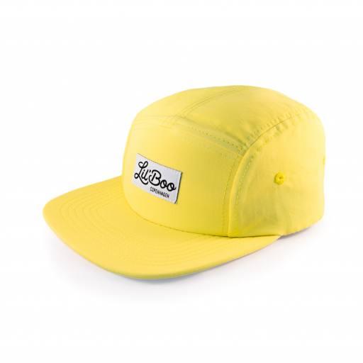 "Lil´Boo - Schirmmütze ""Yellow Light Weight"", bright yellow"