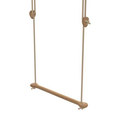 Lillagunga - Trapez Eiche - beige Seile