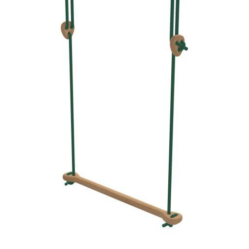 Lillagunga - Trapez Eiche grüne Seile