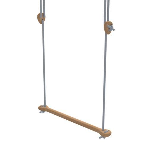 Lillagunga - Trapez Eiche - graue Seile