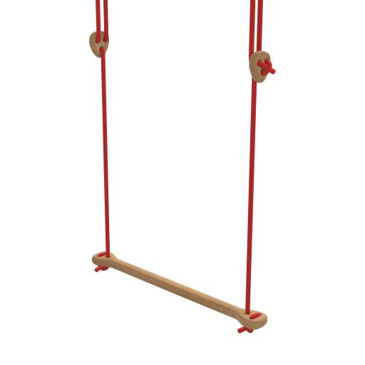 Lillagunga - Trapez Eiche rote Seile