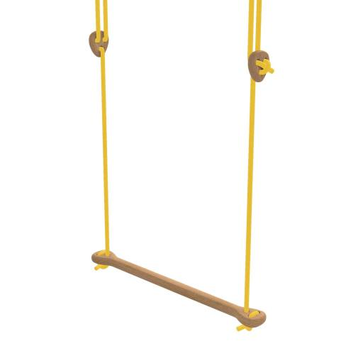 Lillagunga - Trapez Eiche gelbe Seile