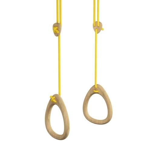 Lillagunga - Ringe Oak - gelbe Seile
