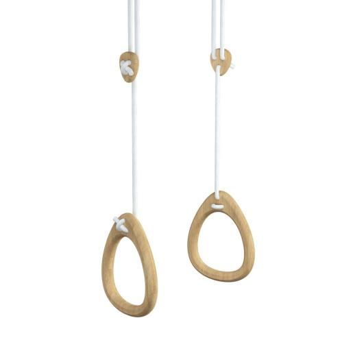 Lillagunga - Ringe Oak - weiße Seile