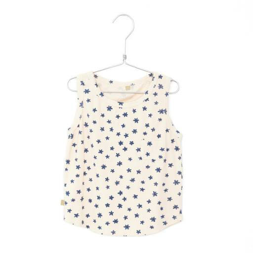 Lötiekids - Tank Top ''Flowers'', off white