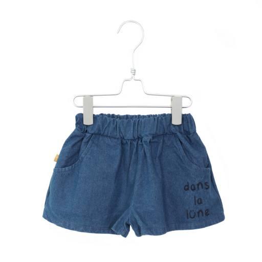 """Lötiekids - Shorts """"Wide Solid"""", denim"""