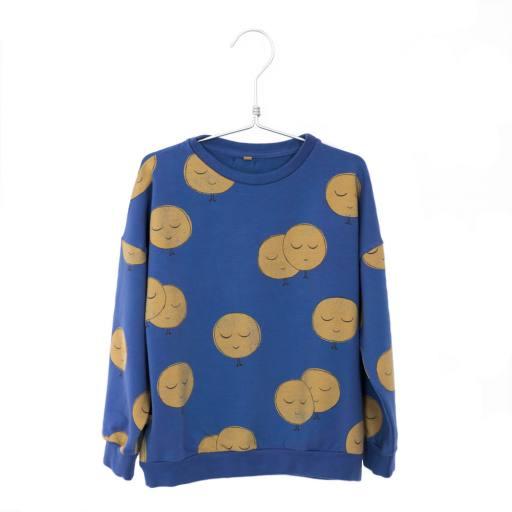 "Lötiekids - Sweatshirt ""Moons"", indigo blue"