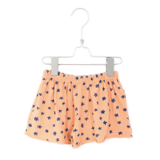 Lötiekids - Shorts ''Flowers'', salmon