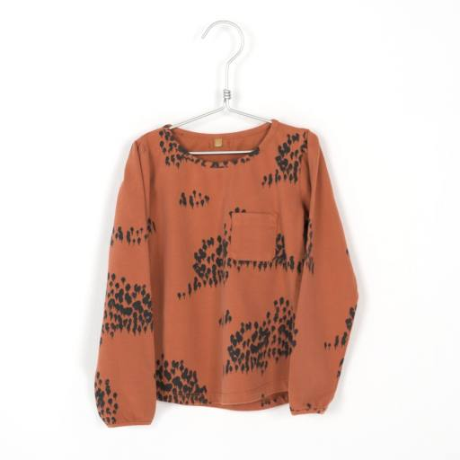 "Lötiekids -Longsleeve ""Girl´s fitted T-Shirt"", forest tile"