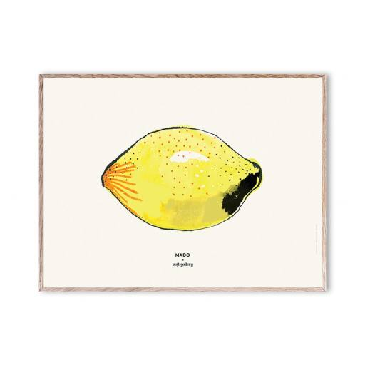 "Mado x Soft Gallery - Poster ""Lemon, 40x30cm"""