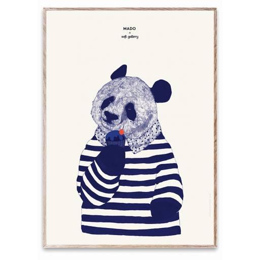 "Mado x Soft Gallery - Poster ""Coney"", 50x70cm"""