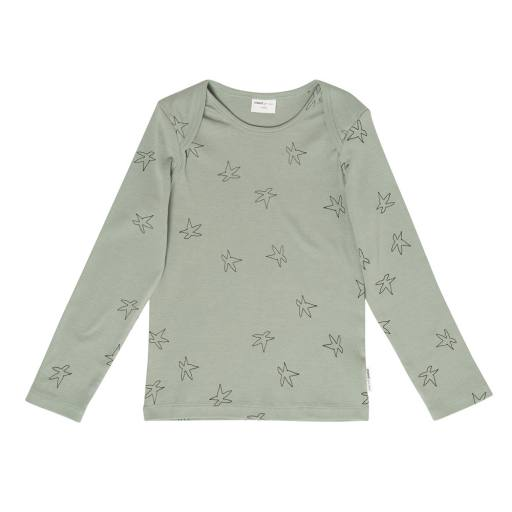 "Maed for Mini - Langarmshirt ""Sleepy Seastar'', jadeite green"