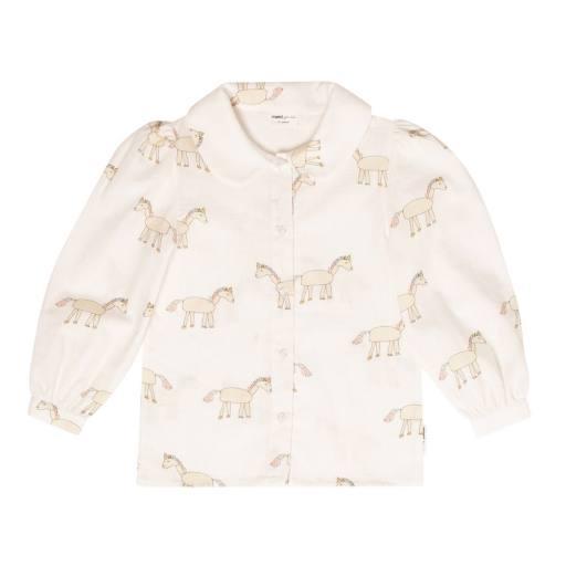 """Maed for Mini - Bluse """"Unusual Unicorn"""", creme"""