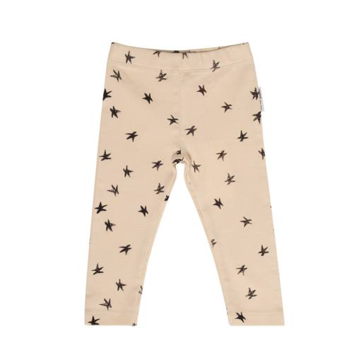 "Leggings ""Sandy Starfish"", creme"