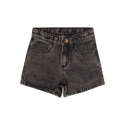 "Maed for Mini - Jeansshorts ""Bull Shorts"", black"