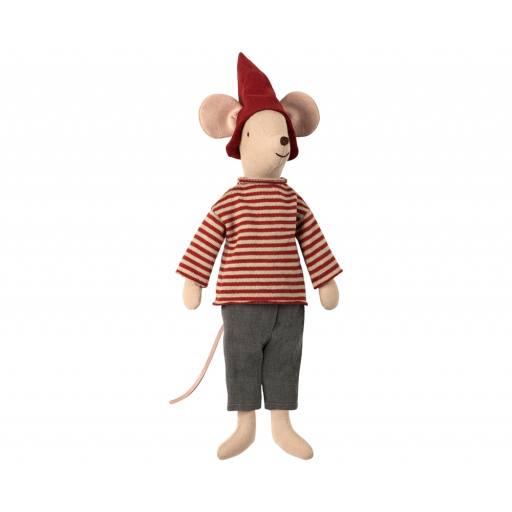 """Maileg - Stofftier Jungen Maus """"Christmas mouse boy"""""""