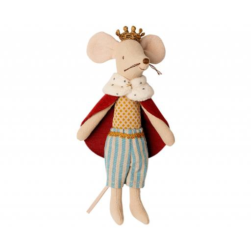 "Maileg - Stofftier König Maus ""King mouse"""