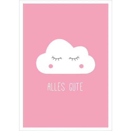 "Mari Mari - Postkarte ""Alles Gute"""