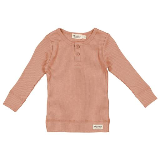 "MarMar - Langarmshirt ""Tee"", rose brown"
