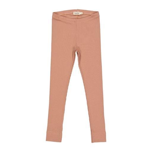 """MarMar - Leggings """"Modal"""", rose brown"""