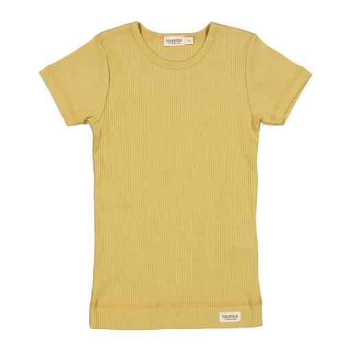 "MarMar - Kurzarmshirt ""Plain Tee"",  hay"