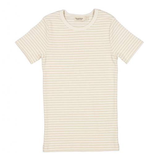 """MarMar - T-Shirt """"Tago Modal"""", hay stripe"""
