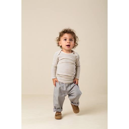 "MarMar - Babyhose ""Panto Crispy Poplin Pants"", chalk"