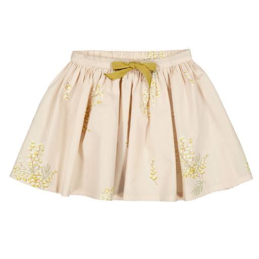 "MarMar - Rock ""Sus Crispy Popelin Skirt"", mimosa print"