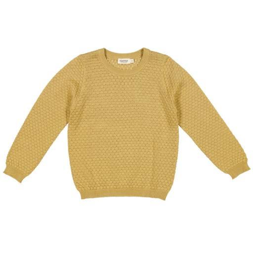 "MarMar - Strickpullover ""Tano Modal Cotton Mix"", hay"
