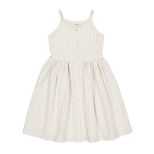 Marmar - Dress ''Danine'', white sage stripes