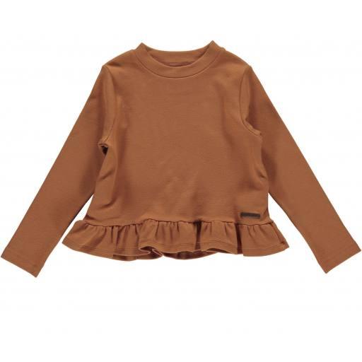 "Marmar - Sweat-Pullover ""Tippi"", desert red"