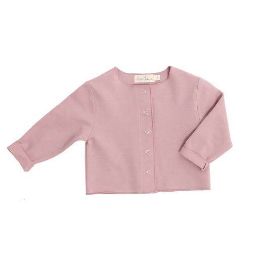 "Merci Marie -Cardigan ""Wilma"", powder pink"