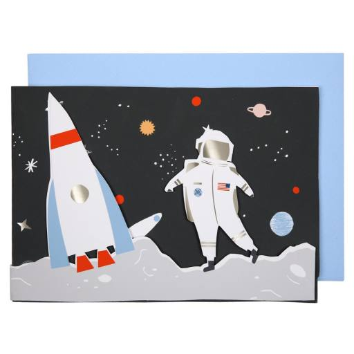 "Meri Meri - Faltkarte ""Space"""
