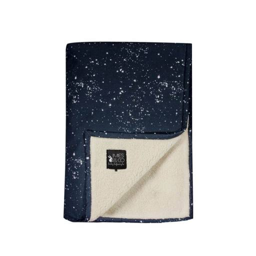 "Mies & Co - Babydecke ""Soft Teddy Blanket"" galaxy"