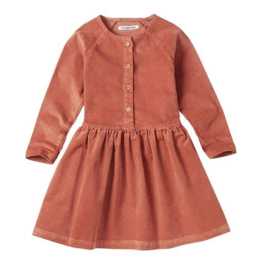 "Mingo -Kleid ""Corduroy Dress"", light terracotta"