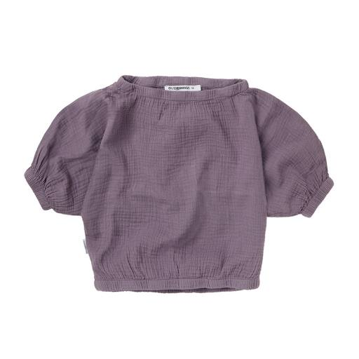 "Mingo - Shirt ""Muslin Cropped Top"", lavender"