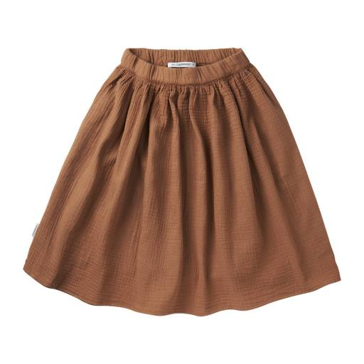 "Mingo - Rock ""Muslin Midi Skirt"", warm earth"